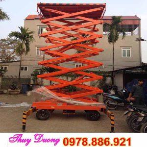 Thang nâng cắt kéo 9 mét