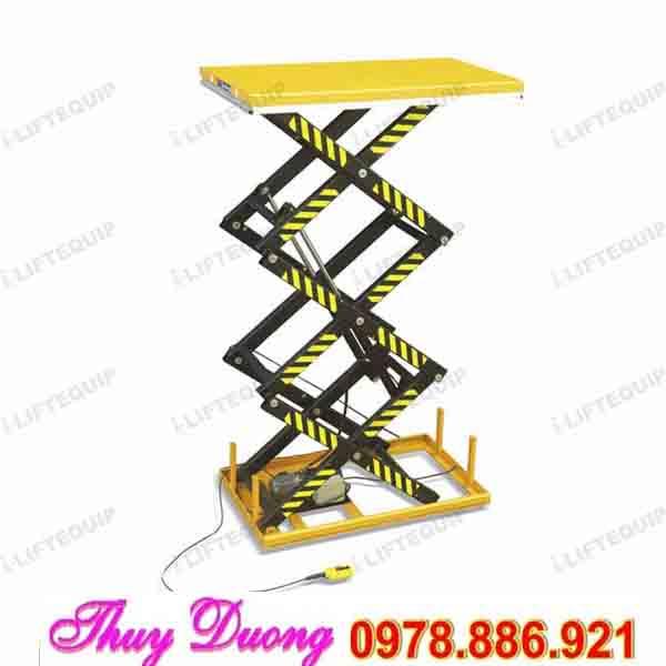 bàn nâng điện cao 3 mét