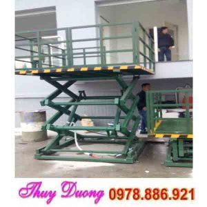 bàn nâng điện 1 tấn cao 5 mét
